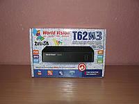 World Vision T62M3 цифровой эфирный ресивер DVB-T/Т2/C, фото 1