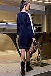 Повседневное платье прямое в спортивном стиле (4 расцветки, р.M-XXL), фото 7