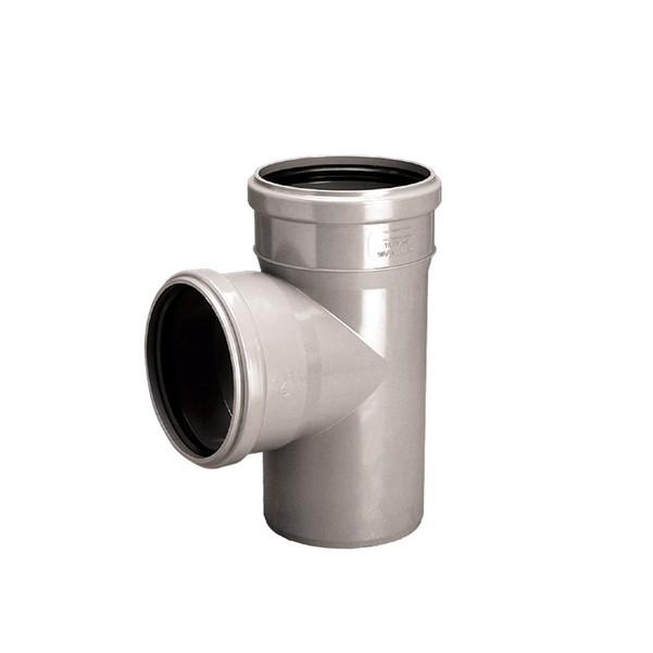 Тройник Ø32-32/90° для внутренней канализации Wavin
