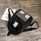 Однотонный рюкзак со съемными липучками-картинками для подростков девочек., фото 4
