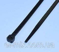 Хомут пластиковий (стяжка) 300х5.0мм чорний, ProFix, 8-0218Bk, упак.-100шт