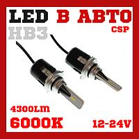 Лампы светодиодные Baxster PXL HB3(9005) 6000K 4300Lm, фото 1