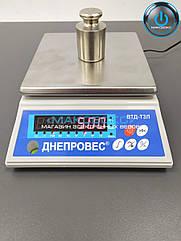 Весы порционные до 3 кг Днепровес – ВТД Т3Л