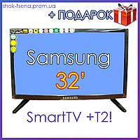 "Телевизор Samsung  32"" DVB-T2, SmartTV USB, WI-FI, Телевизор Самсунг 32 дюймов фабричный Китай"