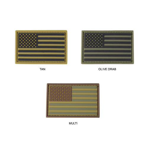 Оригинал Патч шеврон флаг США Condor PVC Flag Patches 221034 Тан (Tan)