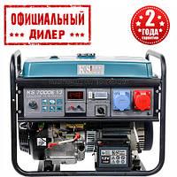 Генератор бензиновый Konner&Sohnen KS 7000E-1/3 (5.5 кВт, 380 В)