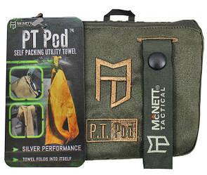 McNett Tactical PT Pod™ Self Packing Utility Towel 432 Coyote Tan