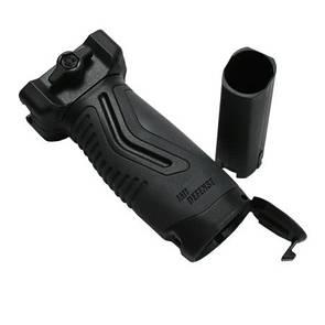 Оригинал Тактическая передняя пистолетная рукоять IMI OVG - Overmolded Vertical Grip ZG105 Олива (Olive)