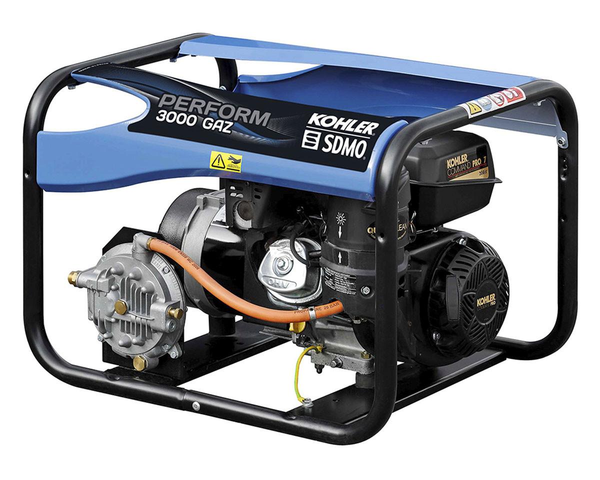 Однофазный газовый генератор SDMO PERFORM 3000 GAZ (3 кВт)