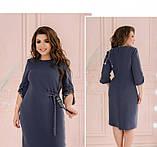 Платье Minova 18 -215-деним, фото 3