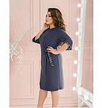 Платье Minova 18 -215-деним, фото 2