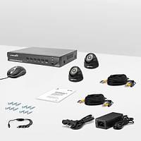 Комплект проводного видеонаблюдения Страж AHD Старт