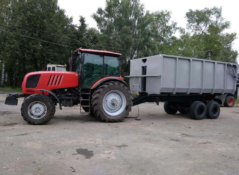 Тракторный полуприцеп 1ПТС-9 (6000х2400х1600)