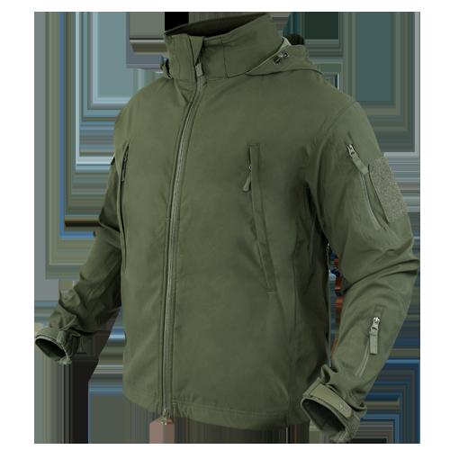Оригинал Софтшелл куртка без утепления Condor SUMMIT Zero Lightweight Soft Shell Jacket 609 Large, Coyote Tan