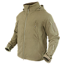 Оригинал Софтшелл куртка без утепления Condor SUMMIT Zero Lightweight Soft Shell Jacket 609 Large, Coyote Tan, фото 4
