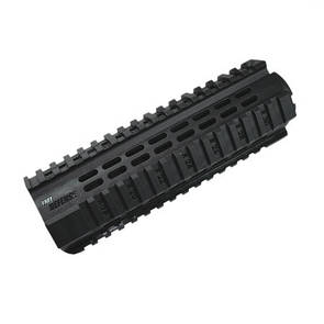 Оригинал Полимерные рельсы для стандартного цевья IMI PCQ Polymer Quadrail ZPG05 Чорний
