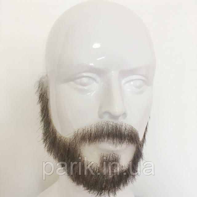 Накладная борода реалистичная купить натуральная профессиональная