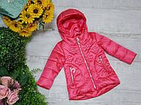 Куртка для девочки осень  весна код W-208  размеры на рост от 86 до 110