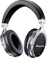 Беспроводные Bluetooth наушники Bluedio F2 с поворотными чашами и кейсом (Черный)
