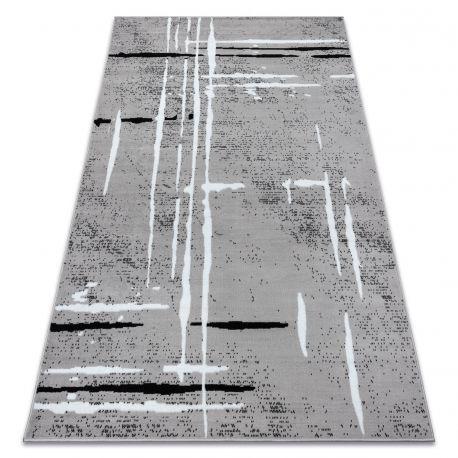 Ковер Лущув BCF 120x160 см серый прямоугольный (OZ112)