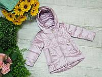 Куртка для девочки осень  весна код W-208  размеры на рост от 86 до 110, фото 1