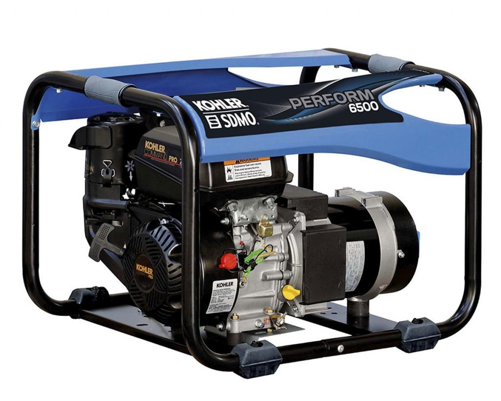 Однофазный бензиновый генератор SDMO PERFORM 6500 (6.5 кВт)