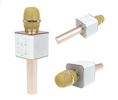 Караоке - микрофон DM StreetGo Q7 Gold