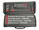 "Оригинал Сумка чехол для оружия BLACKHAWK Sportster Modular Weapons Case 36"" 74SG04 Чорний, фото 4"