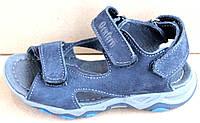 Сандалиидетские, подростковые кожаные на липучке от производителя модель СЛ9-2
