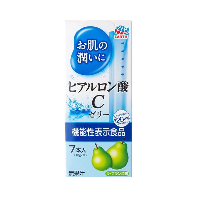 Японская питьевая гиалуроновая кислота в форме желе со вкусом груши  Earth Hyaluronic Acid C Jelly на 7 дней