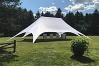 Двухмачтовый шатер Звезда Veranzo 12,40 м. х 7,30 м., белый