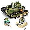 Конструктор Военный танк Sembo Block 368 деталей 101269, фото 5