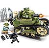 Конструктор Военный танк Sembo Block 368 деталей 101269, фото 6