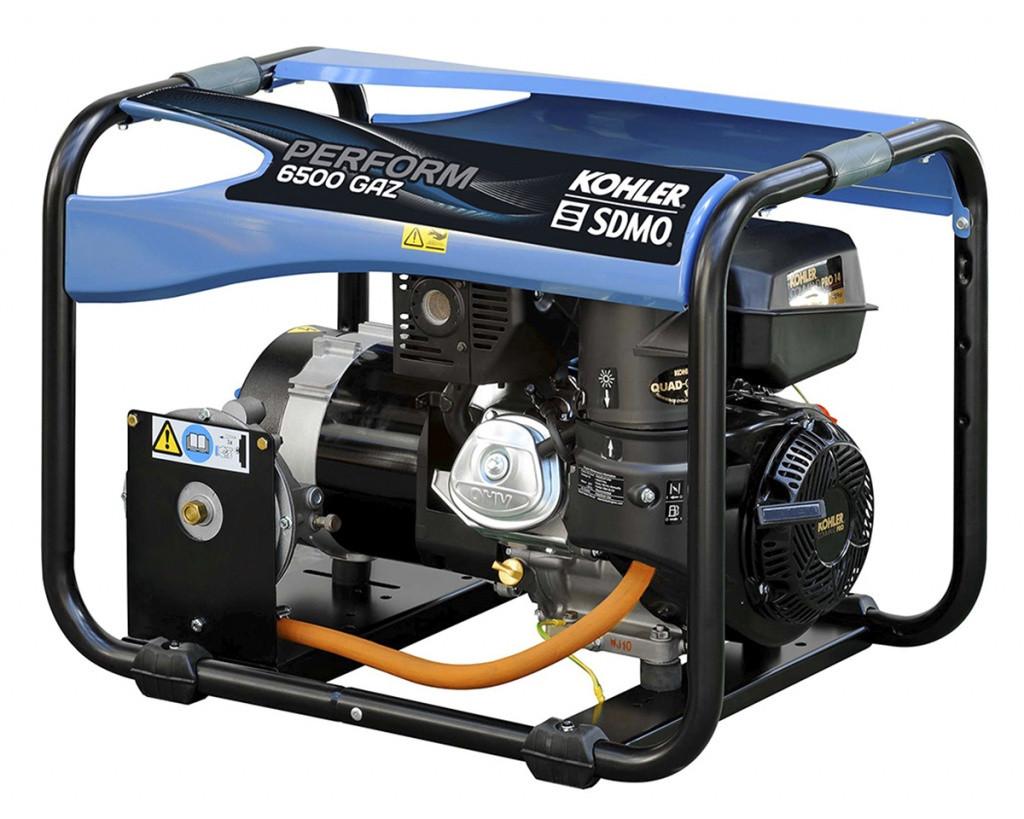 Однофазный газовый генератор SDMO PERFORM 6500 GAZ (6.5 кВт)