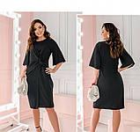 Платье Minova 13136В-черный, фото 4