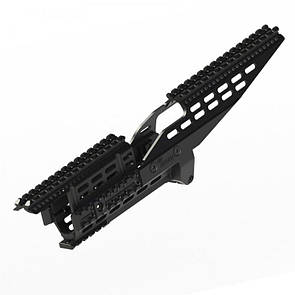 IMI ARP1 AK47/74 Aluminum Rail Platform ZRP01 Чорний