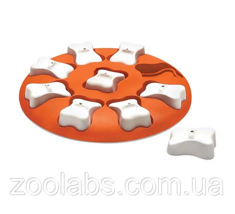 Интерактивная игрушка-головоломка для собак Nina Ottosson Dog Smart, фото 2