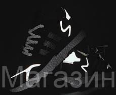 Мужские кроссовки adidas Nite Jogger Black/White (Адидас) черные, фото 2