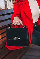 Замшевая сумка М238-33/замш маленькая деловая через плечо кросс-боди, фото 1