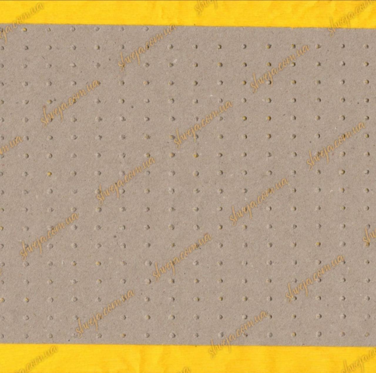 Бумага под настил микроперфорированная крафт 168см / 80г рулон 30кг