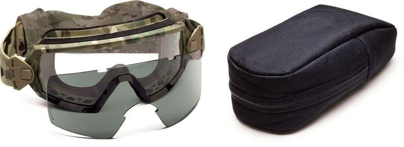 Smith Optics OTW (Outside The Wire) Goggles Field Kit W/ Molle Compatible Pouch Crye Precision MULTICAM