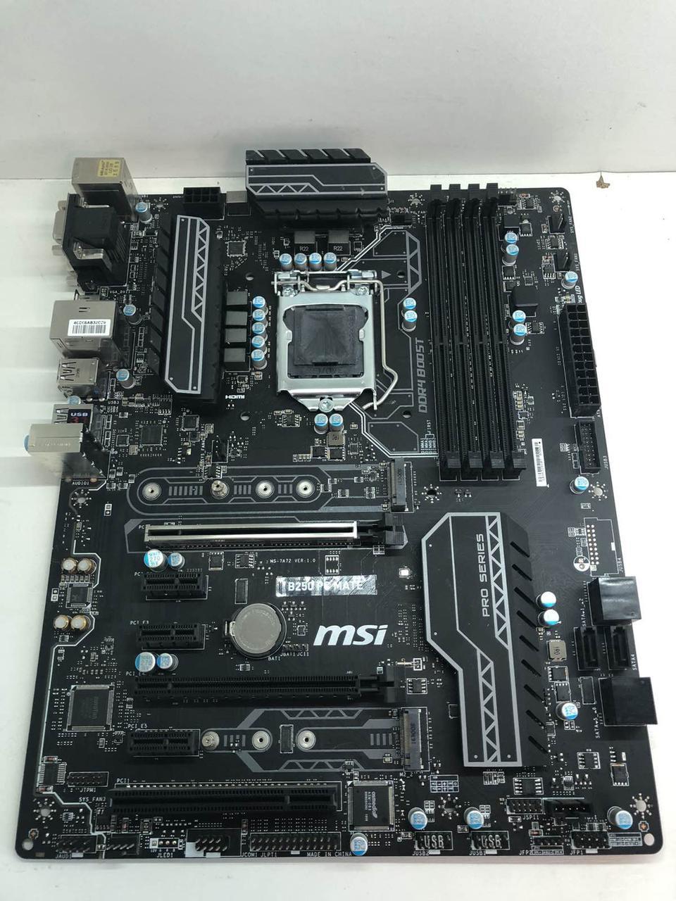 Хорошая материнская плата 1151 сокет 4 слота DDR4 Intel 6/7 поколение