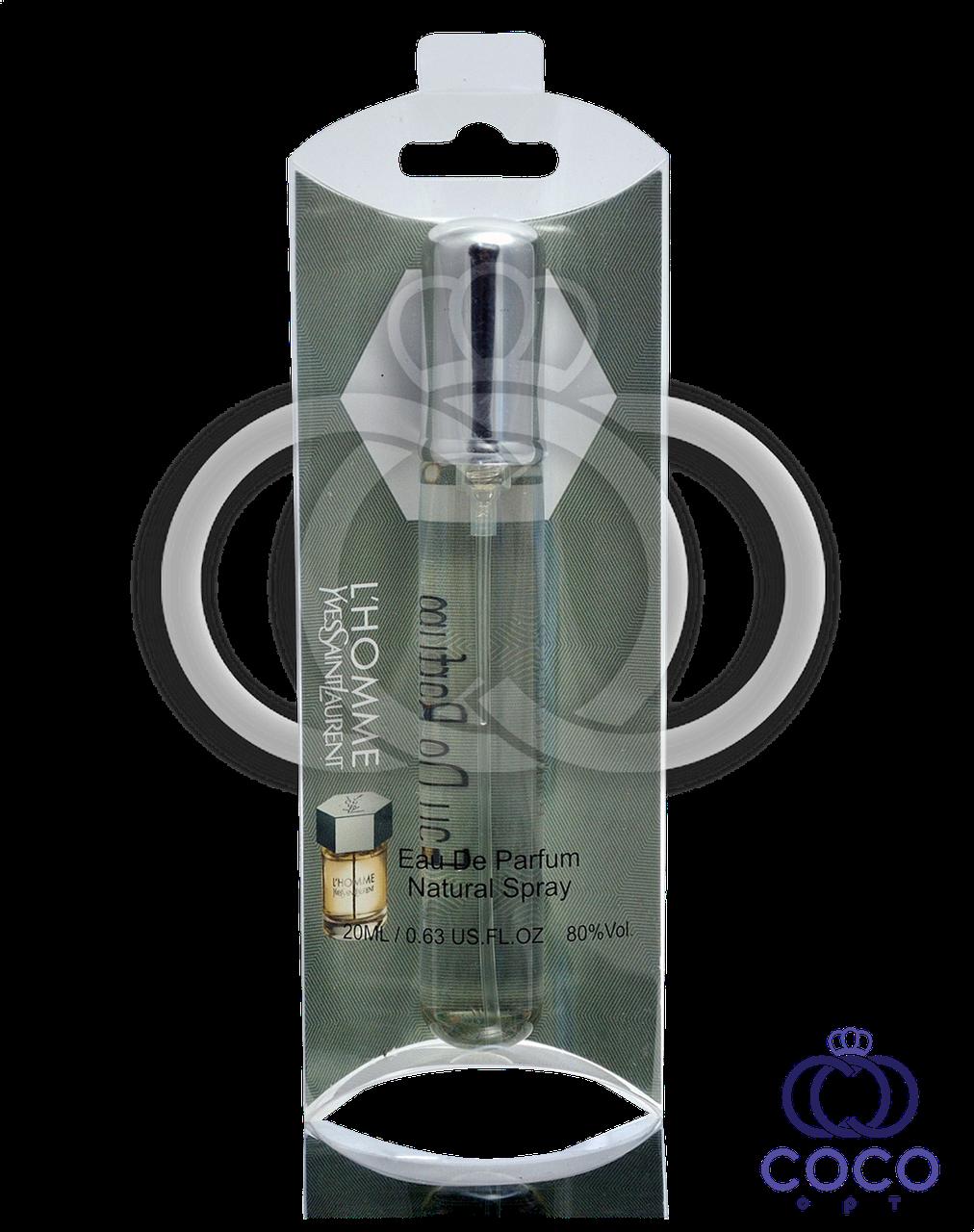Мужской мини парфюм Yves Saint Laurent L`Homme 20 Ml