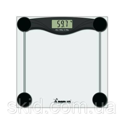Весы электронные мод.5873 (стекло, квадрат, ЖК дисплей, до 180 кг)