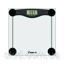 Ваги електронні мод.5873 (скло, квадрат, РК дисплей, до 180 кг)