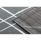 Ковер Лущув BCF 200x300 см серый прямоугольный (OZ022), фото 5
