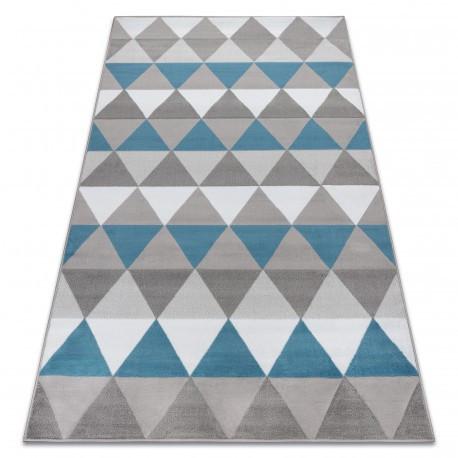 Ковер Лущув BCF 120x160 см голубой прямоугольный (OZ110)