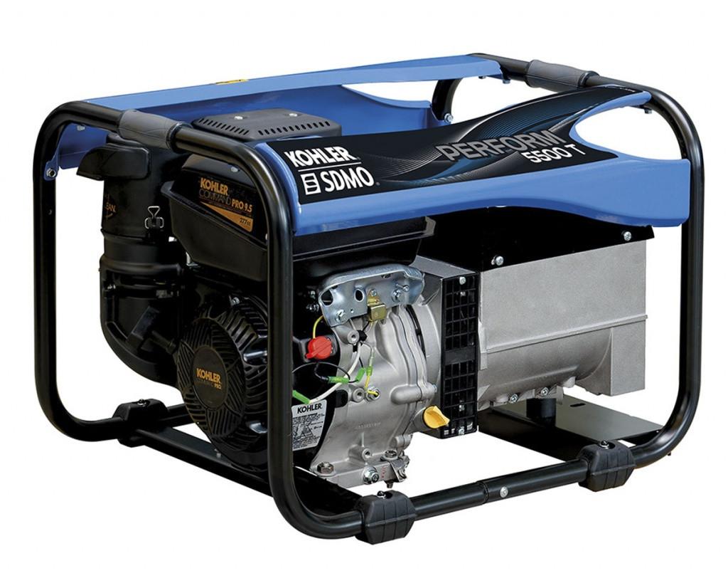 Трехфазный бензиновый генератор SDMO PERFORM 5500 T (4.5 кВт)