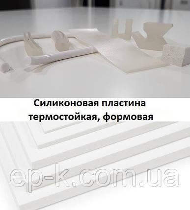 Силиконовая пластина 40 мм, формат 300х300 мм, 500х500 мм, 700х700 мм, фото 2