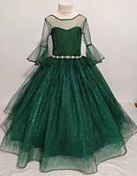 Нарядное бальное детское платье Каролина на 6-7 лет